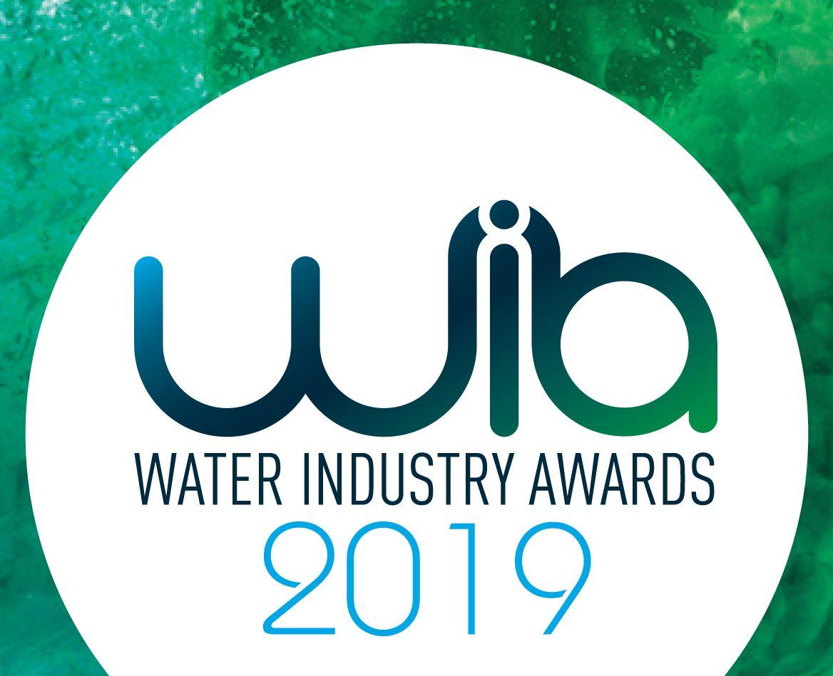 water industry awards 2019 finalist logo
